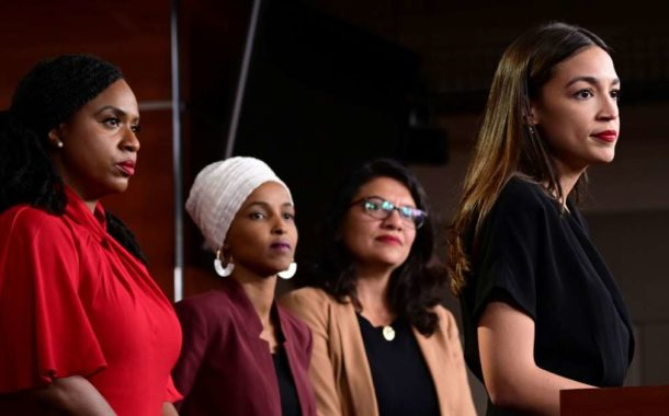 'Apologize to America,' Trump tells four Democratic congresswomen