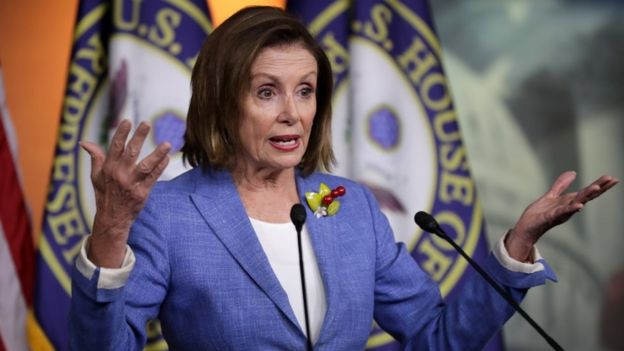 Trump's 'rat-infested' attack on lawmaker was racist, says House Speaker Pelosi