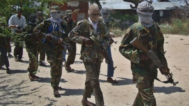 Kismayo attack: At least 26 killed as al-Shabab gunmen storm Somali hotel