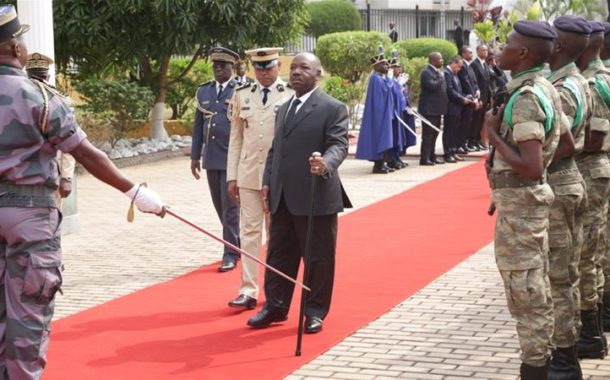 Gabon's Ali Bongo makes first live public appearance after stroke