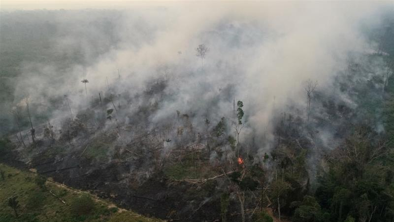 Brazil to reject G7 offer of $22m aid to fight Amazon fires
