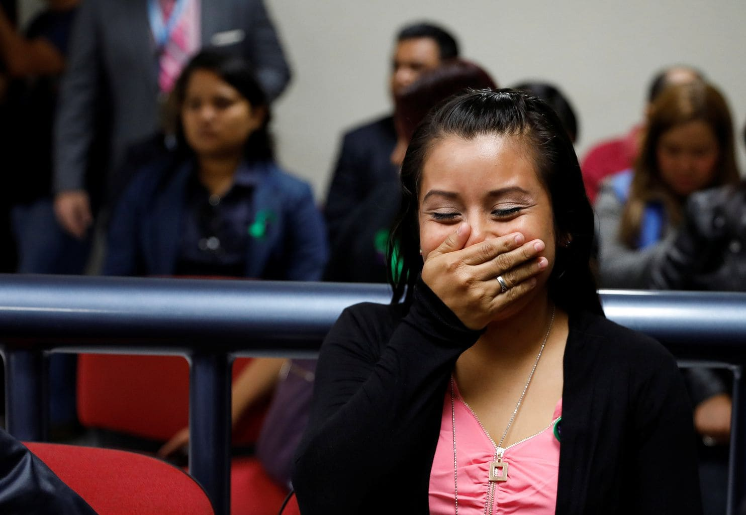 A Salvadoran woman sentenced for 30 years in the death of her stillborn baby freed after 3 years