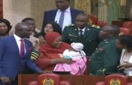 Lawmakers disgrace colleague for entering chambers with baby