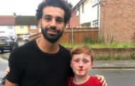 Mohamed Salah visits young fan who ran into lamp-post while chasing his car