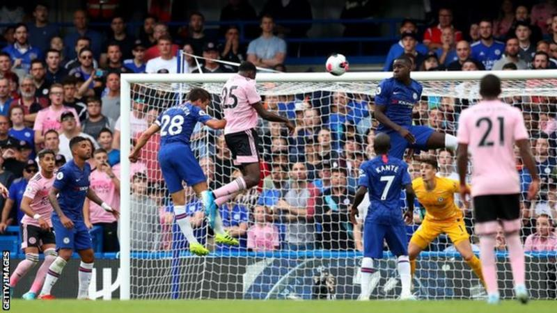 Ndidi header denies Chelsea a win at Stamford Bridge