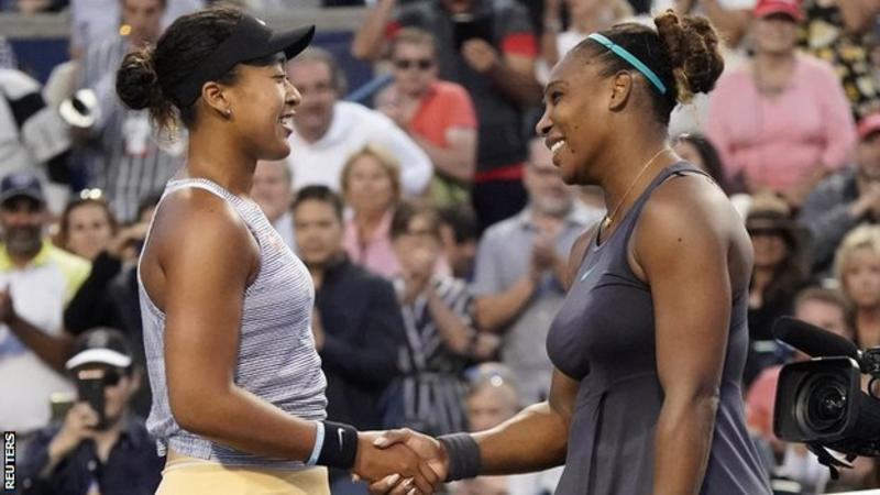 Rogers Cup: Naomi Osaka beaten by Serena Williams but back on top of world rankings