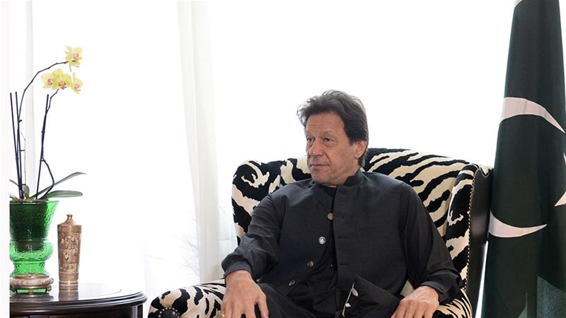 Pakistan PM Imran Khan visits Kashmir amid India tensions