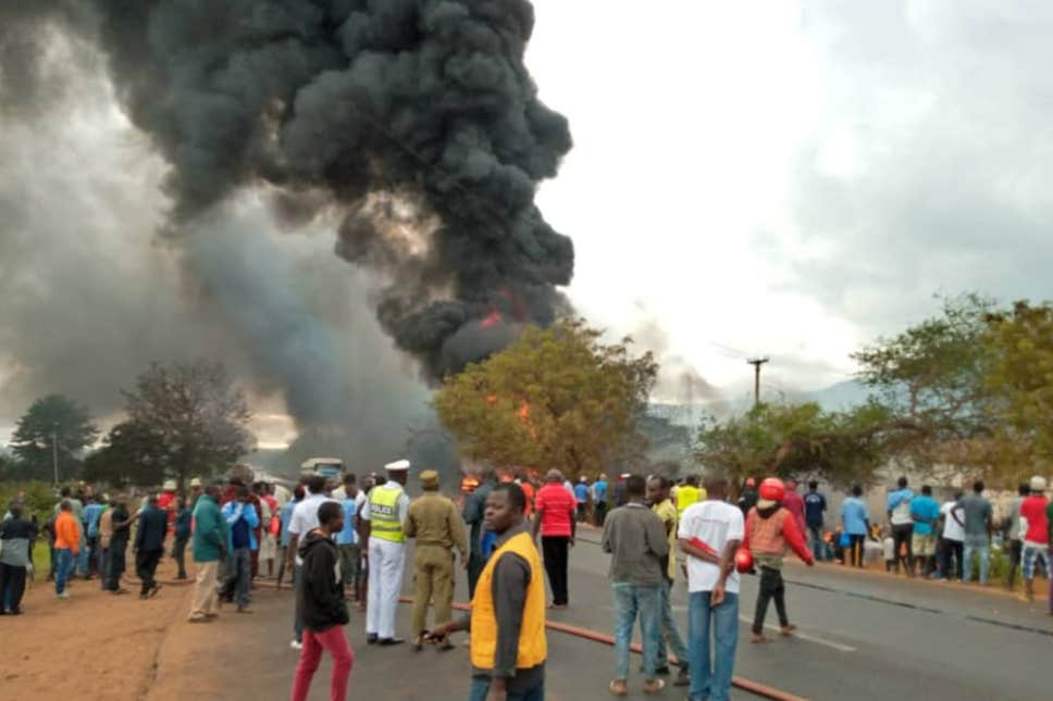 Tanzania fuel tanker blast: At least 60 killed