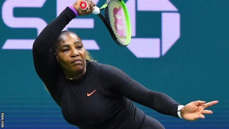 US Open 2019: Serena Williams beats Maria Sharapova 6-1 6-1 to reach second round