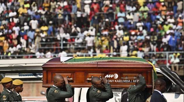 Zimbabwe settles row to give Mugabe hero's burial