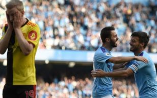 Irrepressible Man City maul Watford 8-0 + All Premier League Results