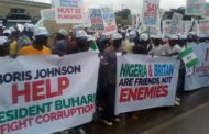 $9.6bn judgment debt: Group holds protest at UK High Commission Office Abuja
