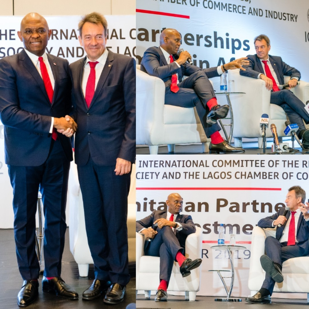 We Partnered with Tony Elumelu Foundation to Create Economic Opportunities in Conflict Prone Regions - ICRC President