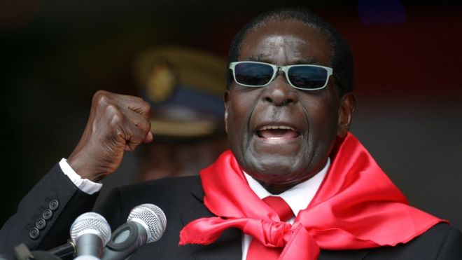 Row brews in Zimbabwe over Mugabe's burial