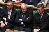 Brexit: Johnson vows to press on despite defeat over deal delay