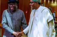 Buhari and Jonathan meet at Aso Rock Villa
