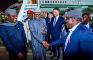 President Buhari attends Russia-Africa Summit in Sochi accompanied by 250 Nigerian Business leaders