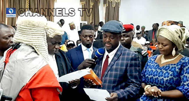 Onoja sworn in as Kogi deputy governor