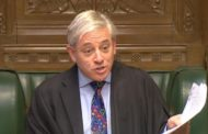 House of Commons Speaker John Bercow rules out fresh MPs' vote on Brexit deal
