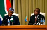 Buhari in South Africa: says panacea for peace is adherence to local laws: