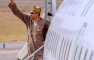 On the move again: Buhari departs Abuja for Future Investments Initiative in Saudi Arabia