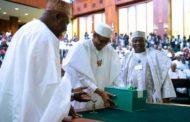 Buhari presents 2020 N10.33trn Budget to NASS