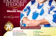 Okosisi's Day in Lagos