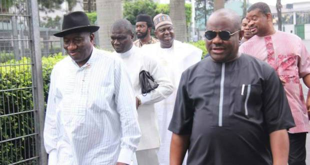 Jonathan, Wike absent from PDP Mega rally in Bayelsa