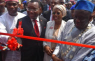 UBA Commits To Creating Superior Value For Customers…Launches Self-Printing Debit Card Machine At Flag Off Of Lagos Trade Fair