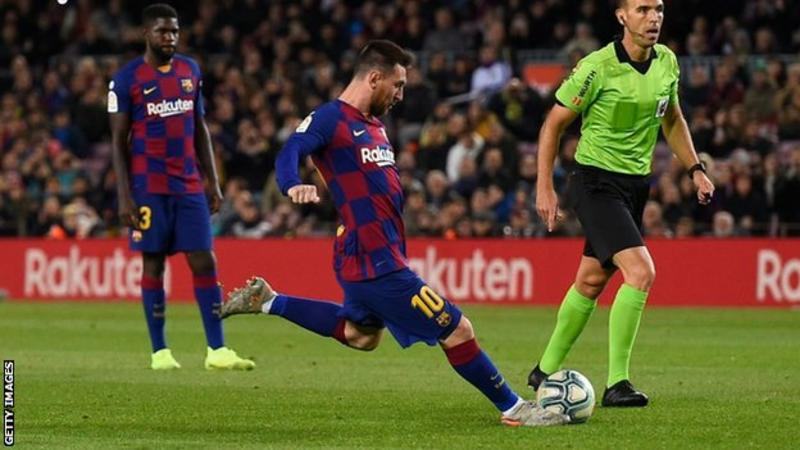 La Liga: Messi's hat-trick sends Barca back to the top + Other Results