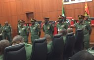 Nigerian Army decorates 23 new generals