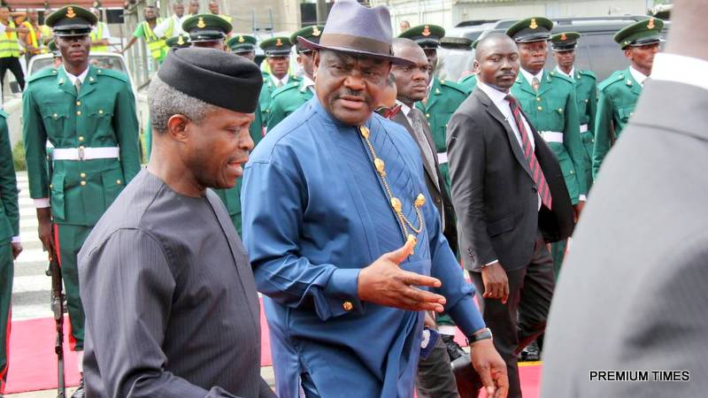 Wike hails Osinbajo for efforts to empower poor Nigerians