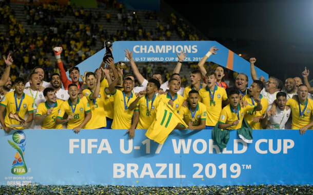 Hosts Brazil come from  behind to Beat Mexico to Win U-17 FIFA World Cup