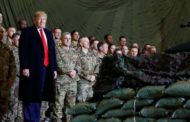 'We are talking to the Taliban' Trump says as he makes surprise Thanksgiving visit to US troops in Afghanistan