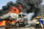 Petrol tanker bursts into flame in Lagos