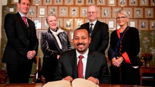 Ethiopia's Abiy Ahmed: Inside the mind of this year's Nobel Peace Prize winner