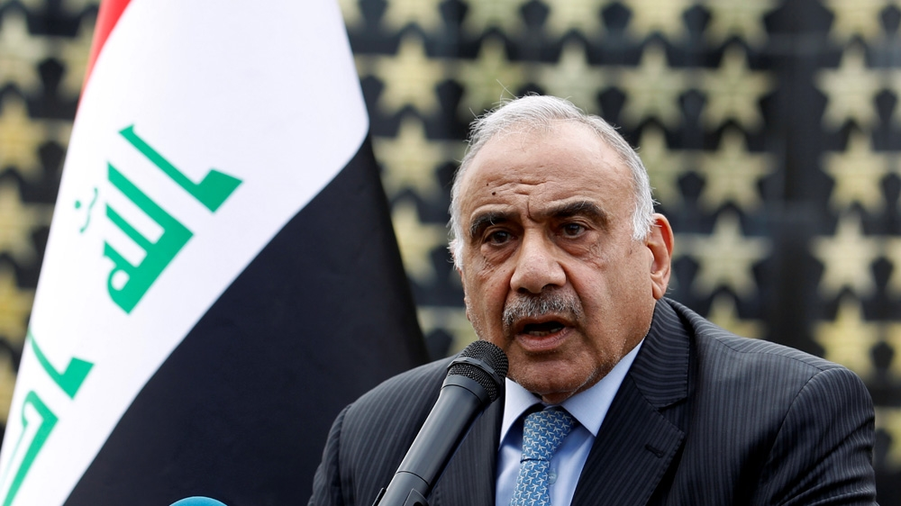 Iraqi PM Abdul Mahdi submits resignation to parliament