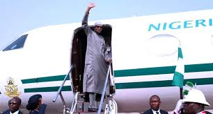 Buhari jets off to Egypt to attend Peace and Development Forum