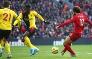 Premier League Weekend: Liverpool still unstoppable  as Salah scores 2 against bottom side Watford + All Results