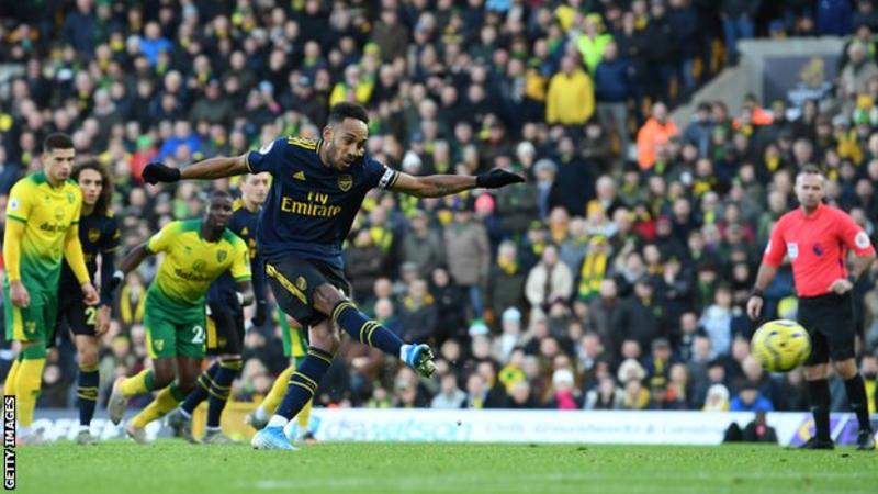 Arsenal earn a draw at Norwich City in Freddie Ljungberg's first league game as manager