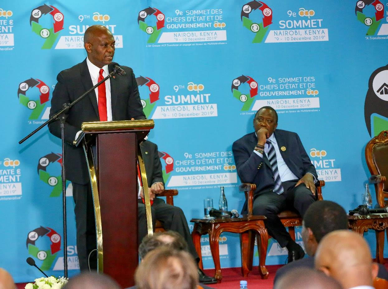 Improve the Business Environment to Drive Industrialisation and Wealth Creation in African, Caribbean and Pacific Countries, Elumelu Tells ACP Presidents in Kenya