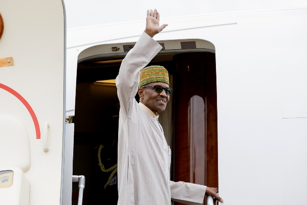 Buhari departs Abuja for London ahead of UK-Africa Investment Summit