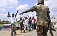 Don't stop at irregular check points, Army cautions motorists