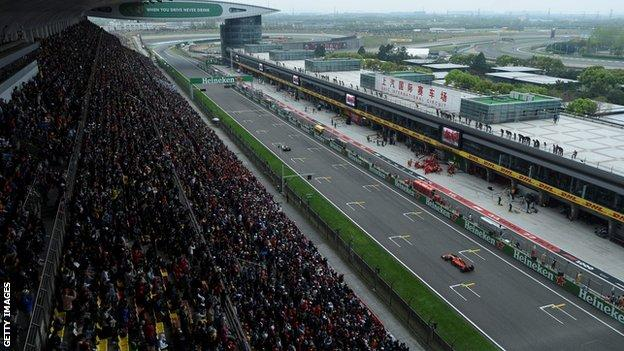Coronavirus: Chinese Grand Prix postponed over virus fears
