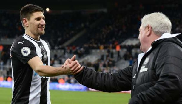 Newcastle United ban handshakes over coronavirus fears