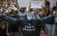 George Floyd death: More Clashes as protests spread across US