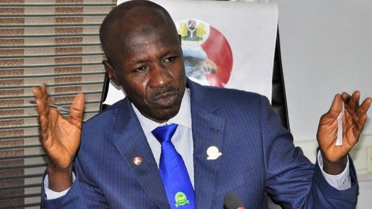 Malami asks President Buhari to sack Magu as EFCC boss over diversion of recovered loot