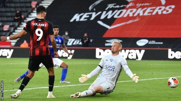 Premier League: Bournemouth come from behind to stun 10-man Leicester 4-1