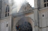 Nantes: Fire breaks out at Saint-Pierre-et-Saint-Paul cathedral