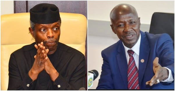 Ibrahim Magu denies giving Osinbajo N4 billion